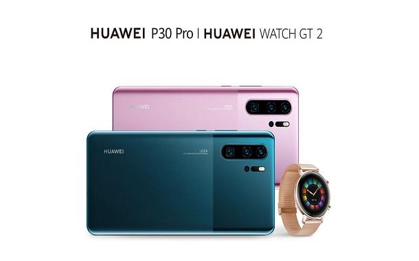 هاتف Huawei P30 Pro وساعة Huawei GT 2 بتصميمين جديدين قريباً في السوق الأردني