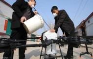 الصين تستعين بطائرات مسيّرة وروبوتات لمكافحة فيروس كورونا