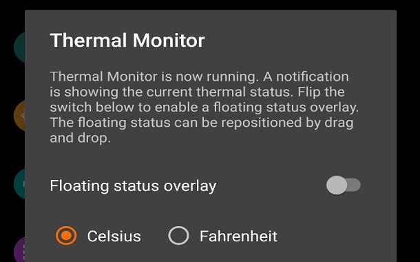 Thermal Monitor: تطبيق جديد لمراقبة الحالة الحرارية لهاتفك الأندرويد