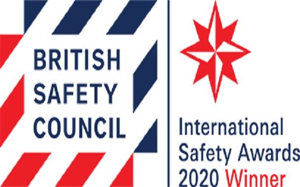 أمنية تحصل على جائزة السلامة والصحة المهنية من مجلس السلامة البريطاني