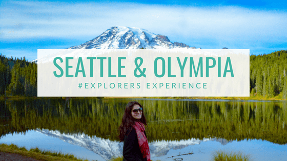 #EXPLORERS EXPERIENCE Seattle Olympia Washington State USA America