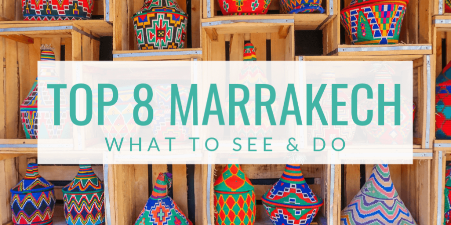 What to see and do in Marrakech? I'll explain it to you in my top 8 (+1 bonus tip!) in this blog.