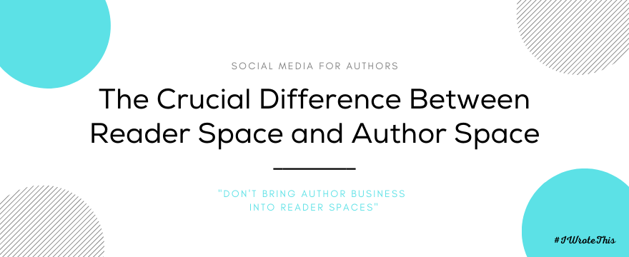 The Difference Between Reader Space and Author Space