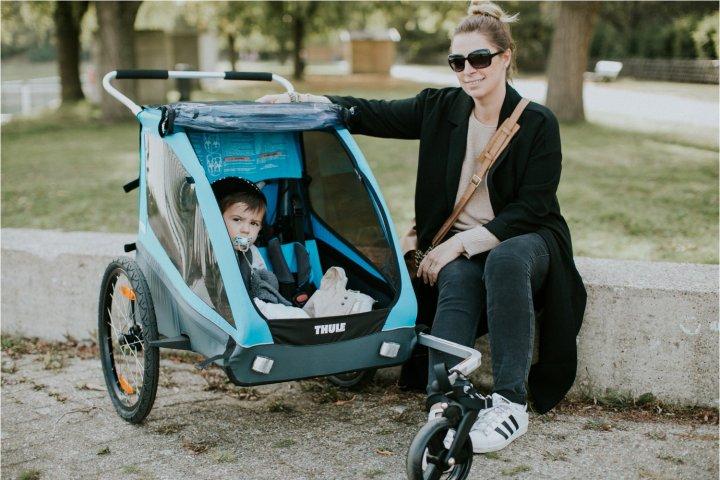 Op stap met de Thule Coaster XT fietskar