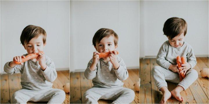 Top 5 groenten babyvoeding