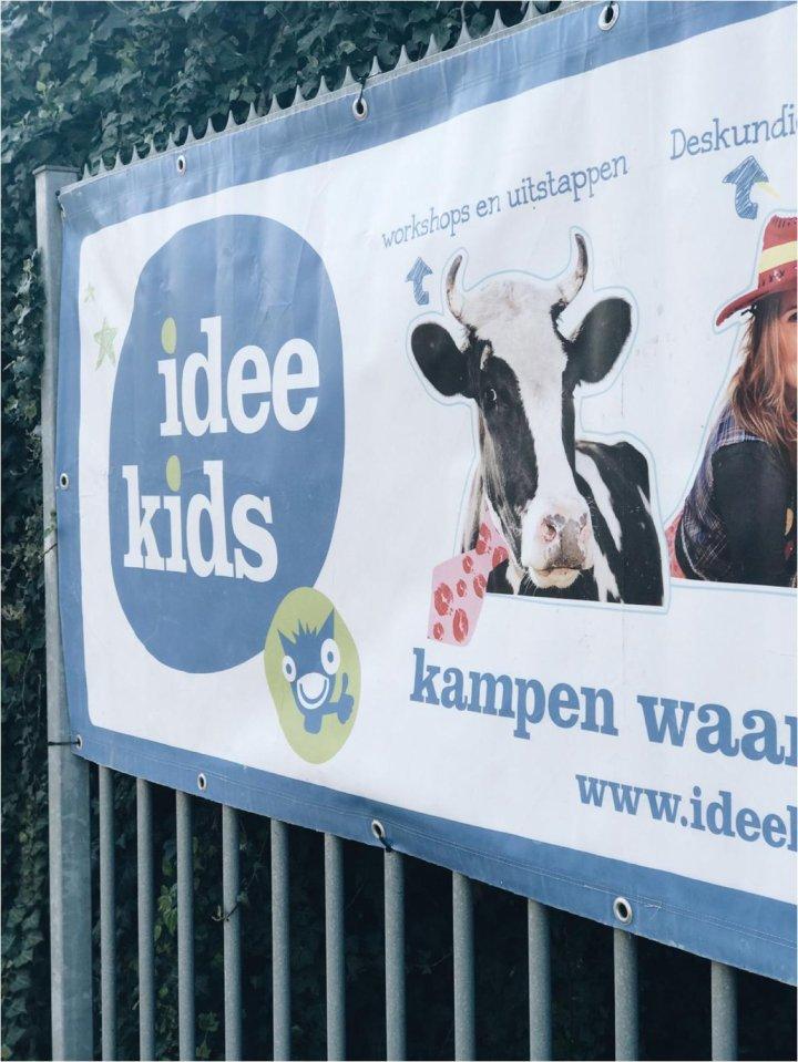 Op kamp met Idee Kids