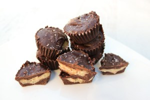 Salted Maple Coconut Butter Cups