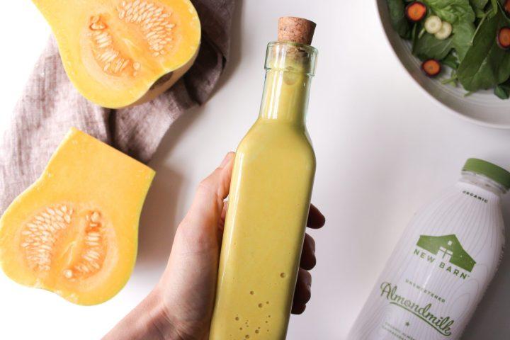 Hashtag Vegan Recipes | Creamy Butternut Vinaigrette