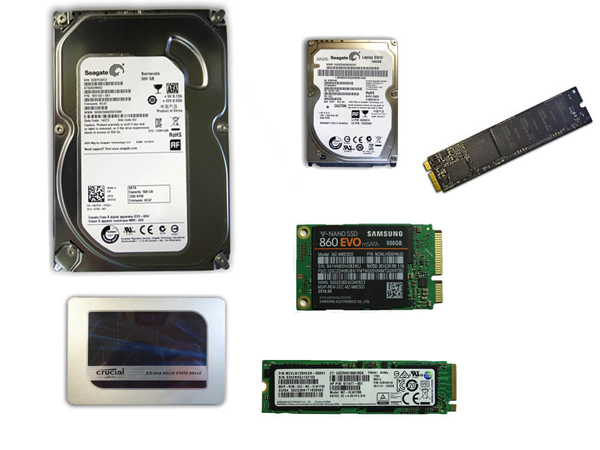 Hard Drive replacements and Upgrades
