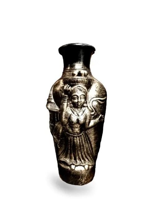 Pottery Vase White 512 4