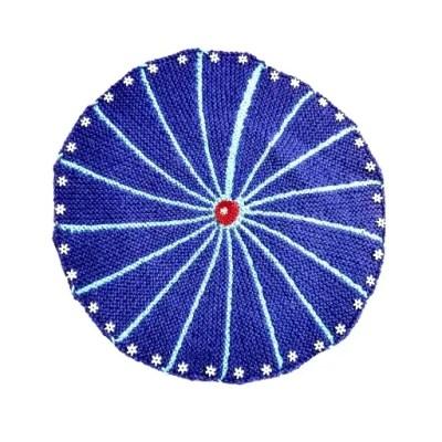 table mat blue