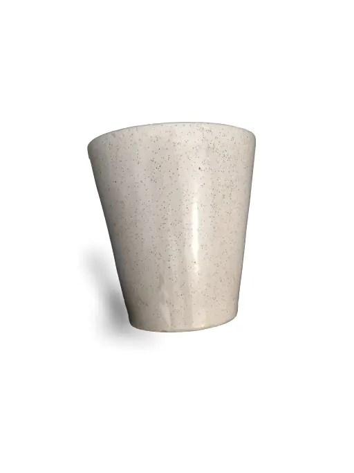 Flower Pot White 1