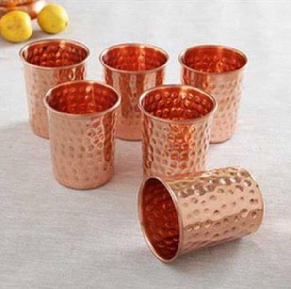 Copper Glasses - Set of 2