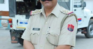 Bulandshahr: Inspector Subodh Kumar Singh who was attacked and shot dead by a Hindu mob protesting against alleged cow slaughter in Uttar Pradesh's Bulandshahr on Dec 3, 2018. A post-mortem report later confirmed that the officer suffered both gunshot in