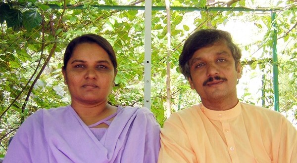 Sanjay and wife Tula are Gandhian workers