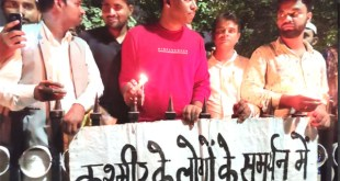 Those who are silent on the issue of Kashmir are anti-national - Kannan Gopinathan