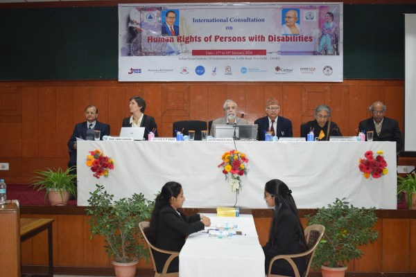 INTERNATIONAL CONSULTATION ON HUMAN RIGHTS OF PERSONS WITH DISABILITIES