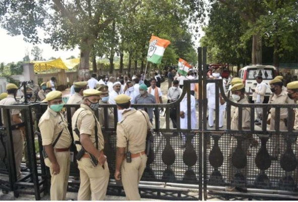Big Breaking: Many leaders, including UP Congress state president, under house arrest, Maharashtra minister Nitin Raut said that he can be arrested at any time