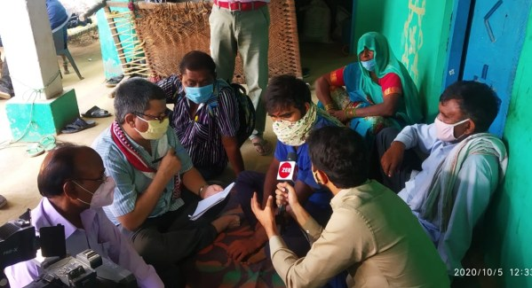 IPF team meets family of victim in Bhulgadhi village of Hathras