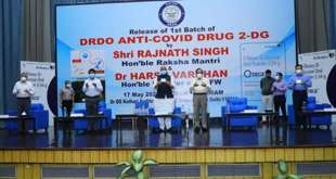DRDO drug '2-DG' for COVID treatment launched