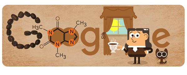Google doodle February 8. Google Doodle raises a cup to German chemist Runge