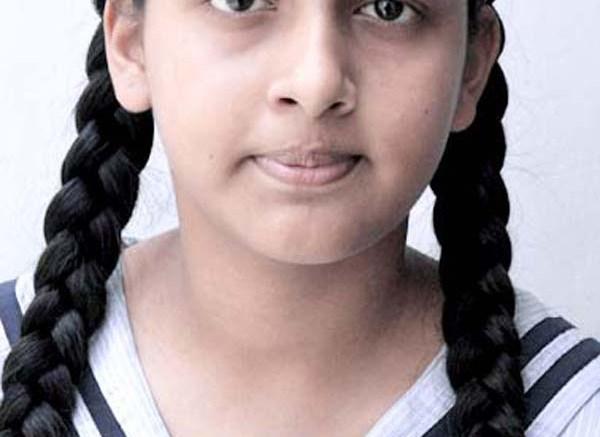 Upasana, a Class VII student of City Montessori School, Aliganj Campus