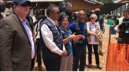 WHO Director-General, Dr Tedros Adhanom Ghebreyesus today visited an Ebola treatment centre in Butembo, in the Democratic Republic of the Congo, that was attacked by armed groups last week and again earlier today.