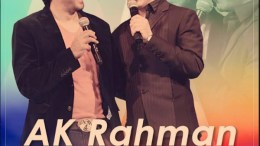 AK Rahman and Shah Rukh Khan