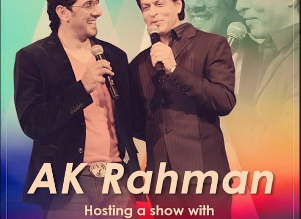 AK Rahman and Shah Rukh Khan