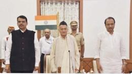 Ajit Pawar after oath as Deputy CM