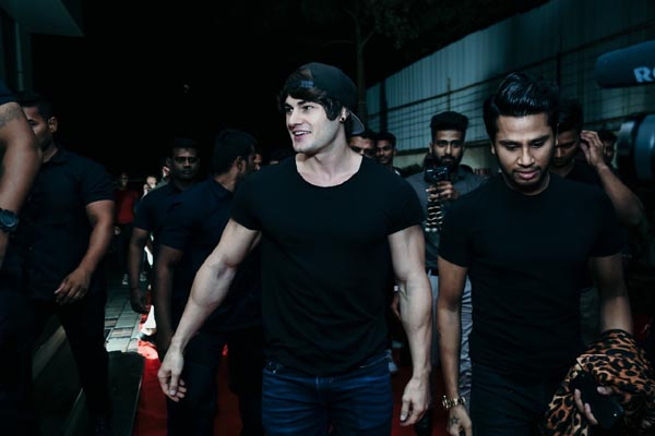 Jeff Seid at India's First International Modeling Show - 1