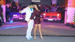 Varun Dhawan and Nora Fatehi at Garmi launch