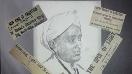 C.V. Raman and image building through media