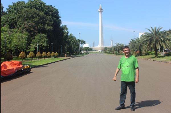 Vidya Bhushan Rawat in Indonesia
