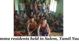 Jammu residents held in Salem, Tamil Nadu