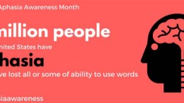 Aphasia Awareness Month - June 2020