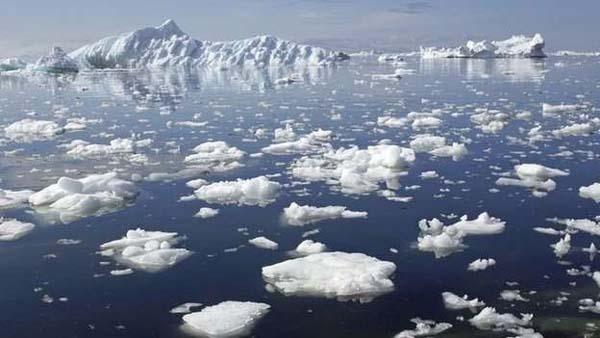 Sea ice extent, Ocean–atmosphere, climate change, Satellite remote sensing