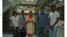 Prof. P.V. Shivaprasad and his team at NCBS, Bnegaluru