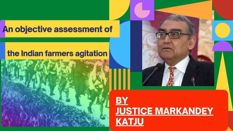 An objective assessment of the Indian farmers agitation