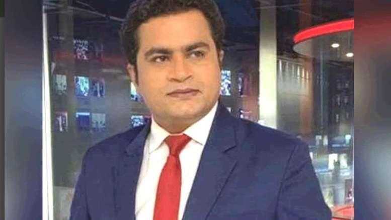 Republic Bharat anchor Vikas Sharma