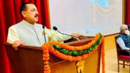 Union Minister of State (Independent Charge) Science & Technology; Minister of State (Independent Charge) Earth Sciences; MoS PMO, Personnel, Public Grievances, Pensions, Atomic Energy and Space, Dr Jitendra Singh