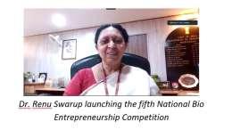 Dr. Renu Swarup, Secretary, Department of Biotechnology, Govt. of India,