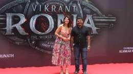 Kichcha Sudeepa with Jacqueline Fernandez