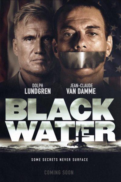 poster black water - Jean Claude Van Damme e Dolph Lundgren