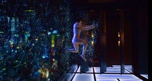 First action Scene Scarlet Johansson - Ghost in The Shell (cena do prédio, Scarlett Johansson A Vigilante do Amanhã)