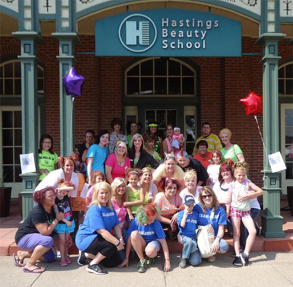 Hastings Beauty School Team John