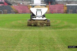 cout de la construction du terrain de football avec gazon artificiel hatko sport