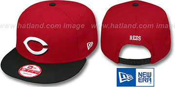 Reds REPLICA ROAD SNAPBACK Hat by New Era