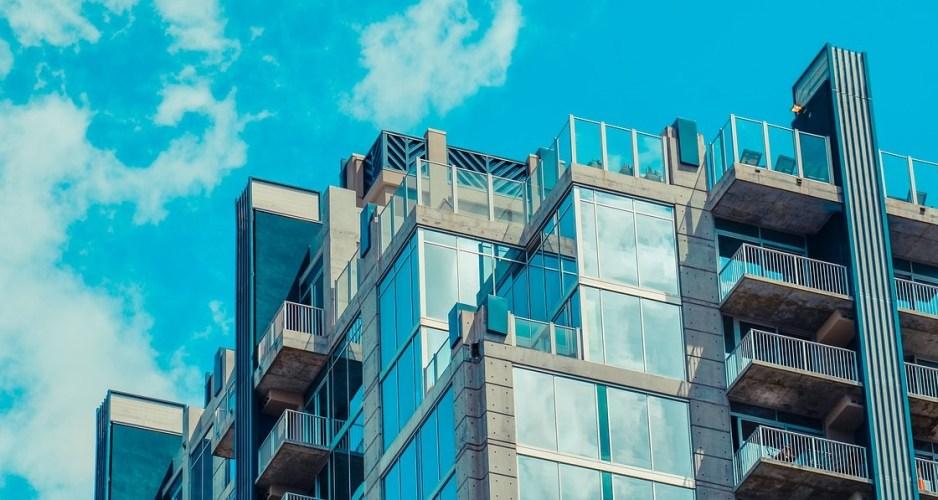 Modern tall building