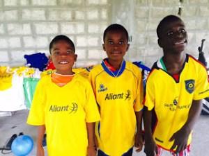 Soccer Shirt Donation